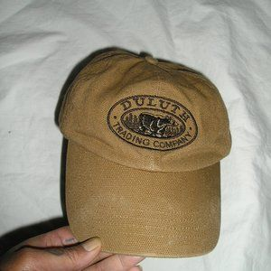DULUTH TRADING FLEECE LINED EMbroidered LOGO CAP
